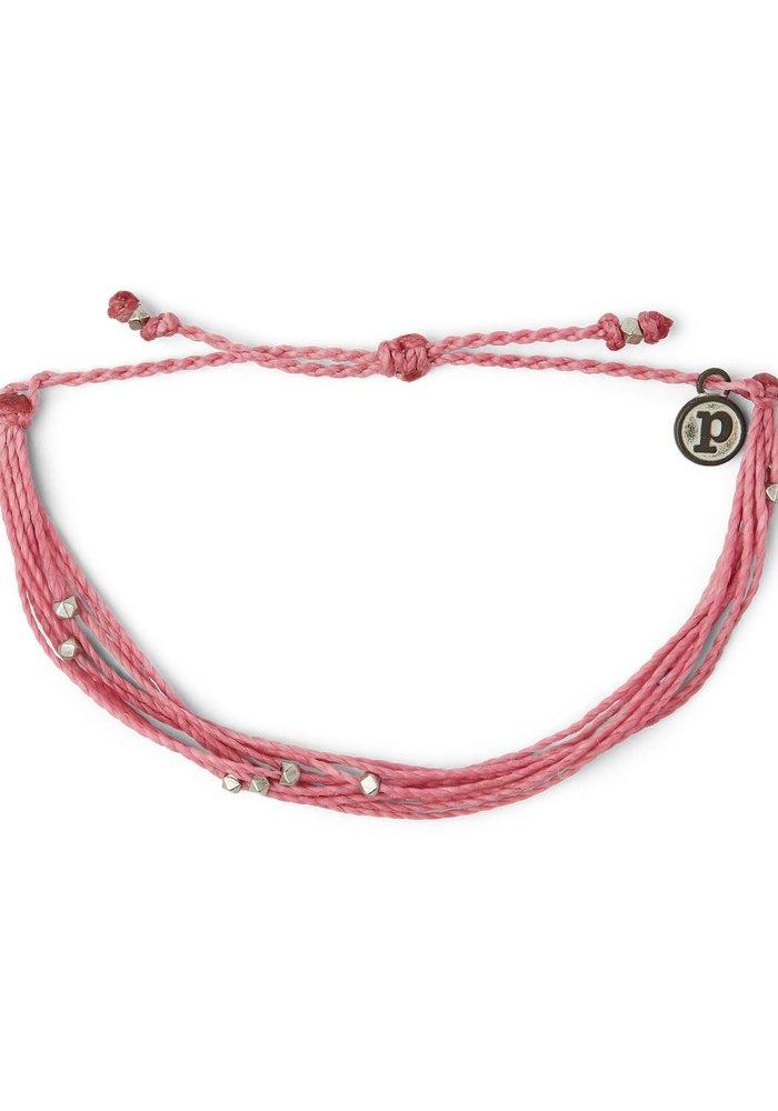 Malibu Bracelet Silver/Blossom Pink