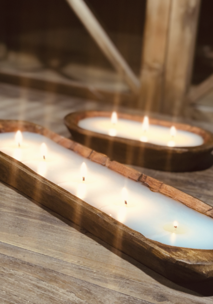 Veranda 5-Wick Dough Bowl Candle