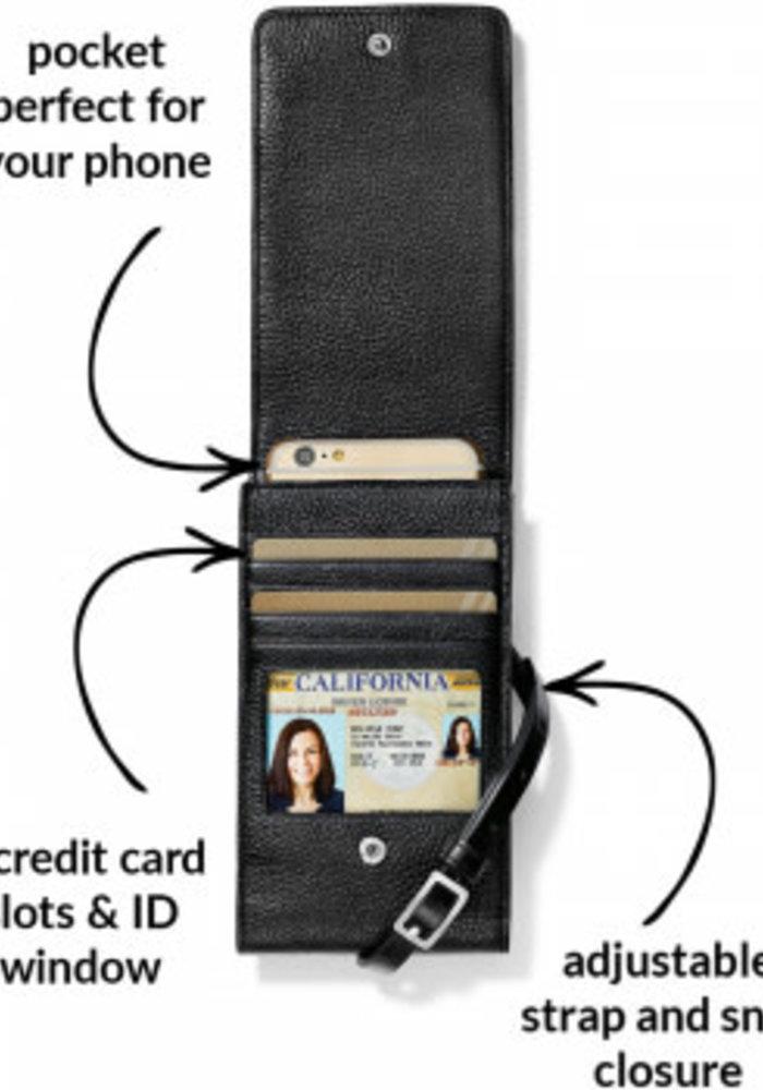 Ferrara Phone Organizer Black