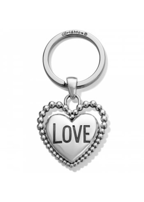 Brighton Beaded Love Key Fob