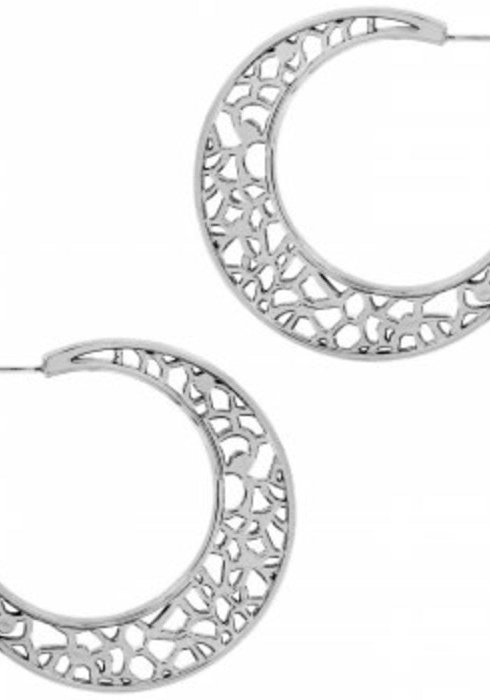 Fiji Sparkle Hoop Earring