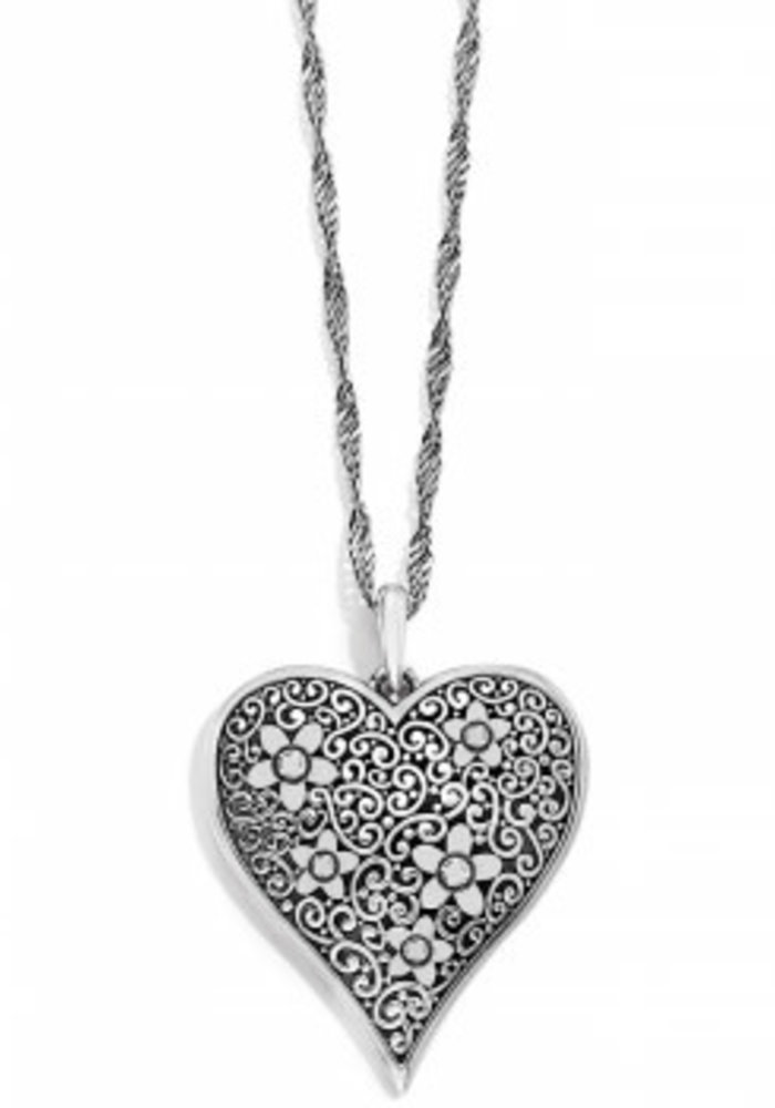 Baroness Fiori Heart Convertible Necklace