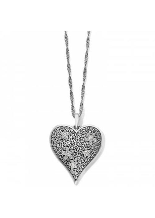 Brighton Baroness Fiori Heart Convertible Necklace