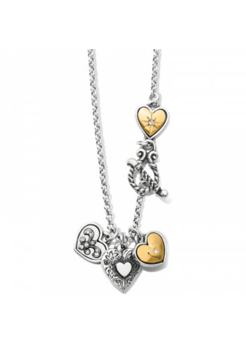 Brighton One Heart Short Necklace