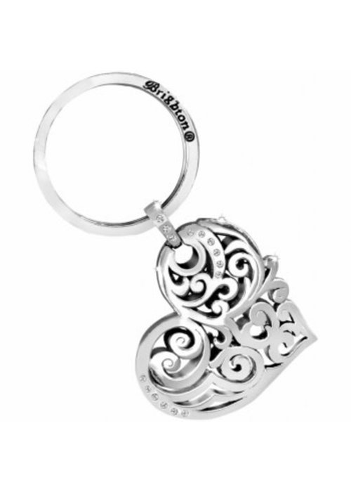 Brighton Madrid Heart Key Fob