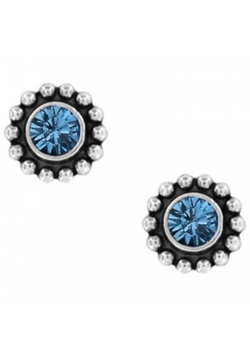 Brighton Sapphire Twinkle Mini Post Earrings