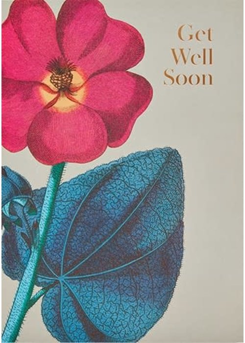 """Get Well Soon"" Foil Card"