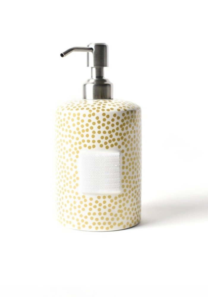 Gold Small Dot Mini Cylinder Soap Pump