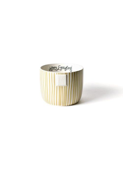Happy Everything Gold Stripe Mini Bowl