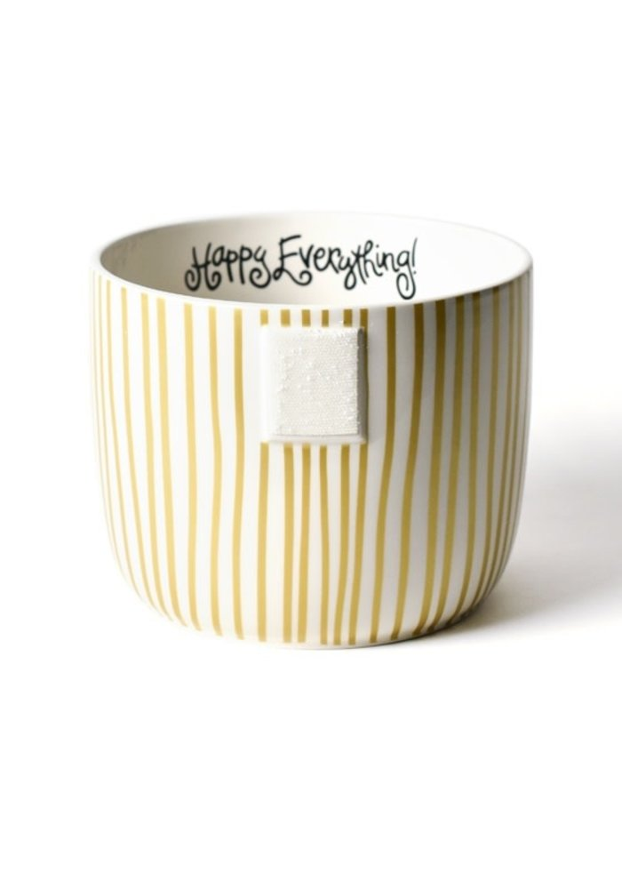 Gold Stripe Mini Bowl