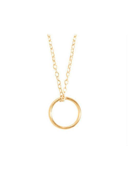 "Enewton 16"" Halo Charm Necklace"