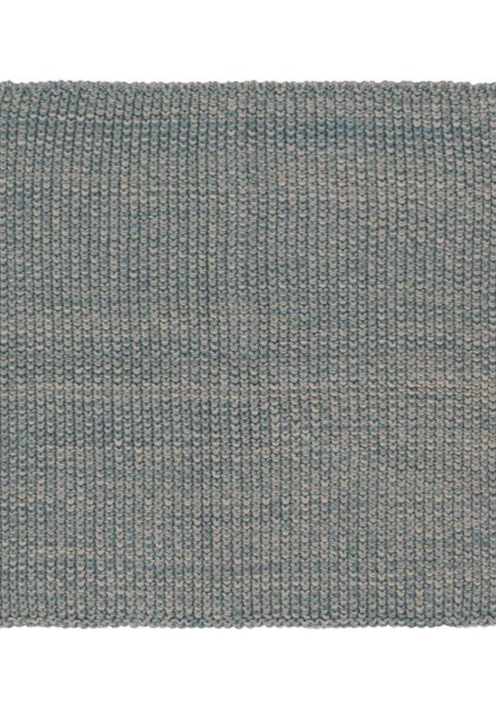 Blue Square Cotton Dish Cloth Set