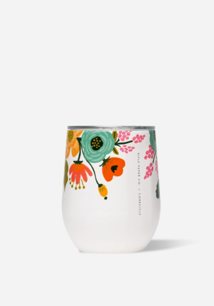 Corkcicle x Rifle Paper Stemless Cup
