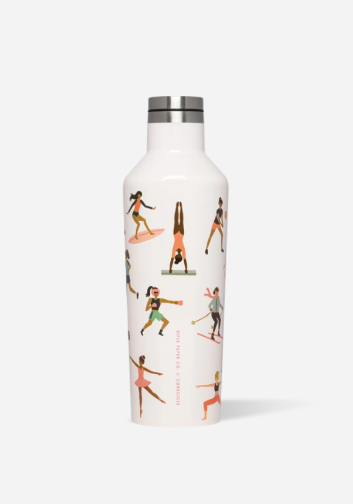 Corkcicle x Rifle Paper Canteen