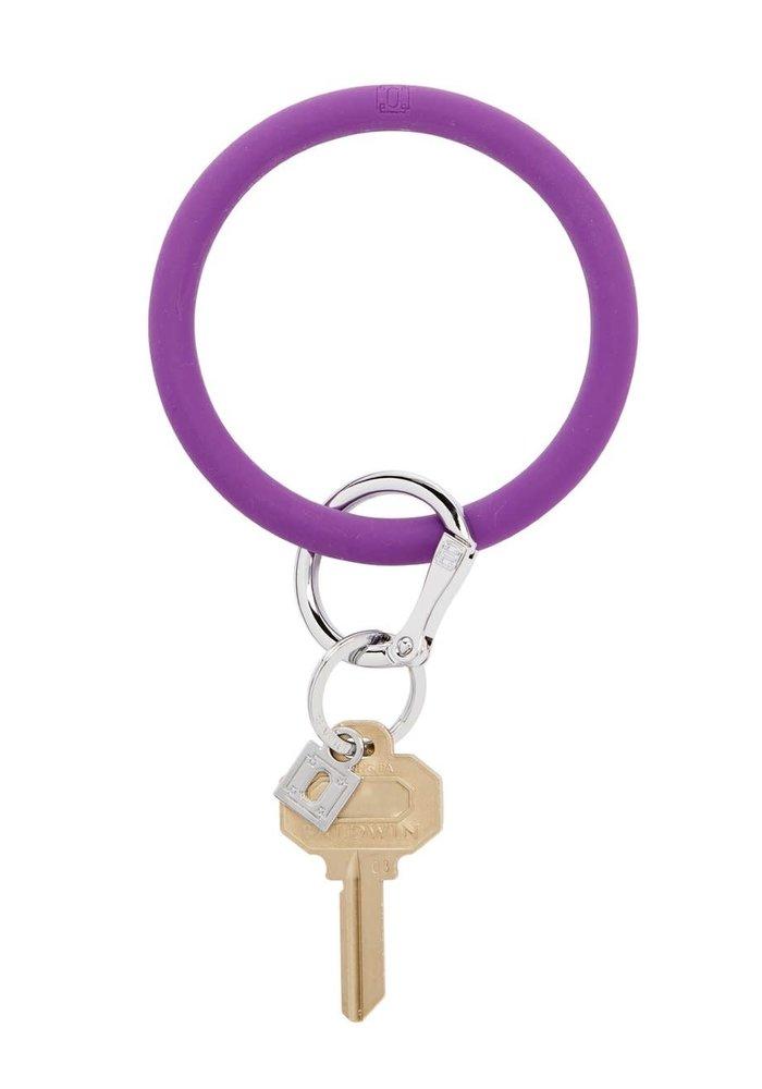 Deep Purple Silicone Big O Ring