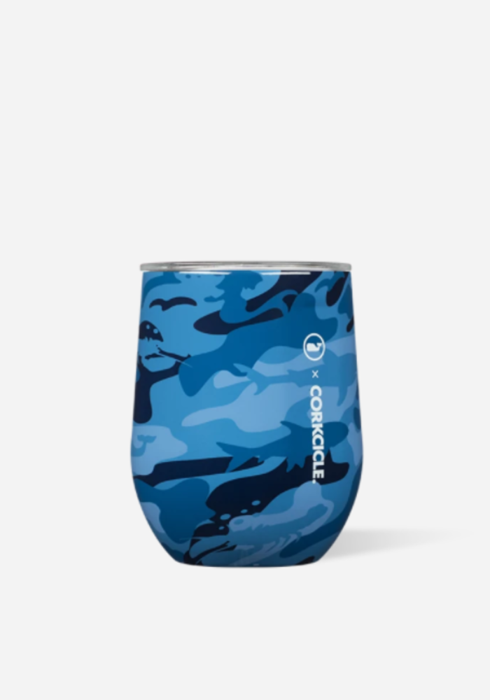 Corkcicle x Vineyard Vines Stemless Cup