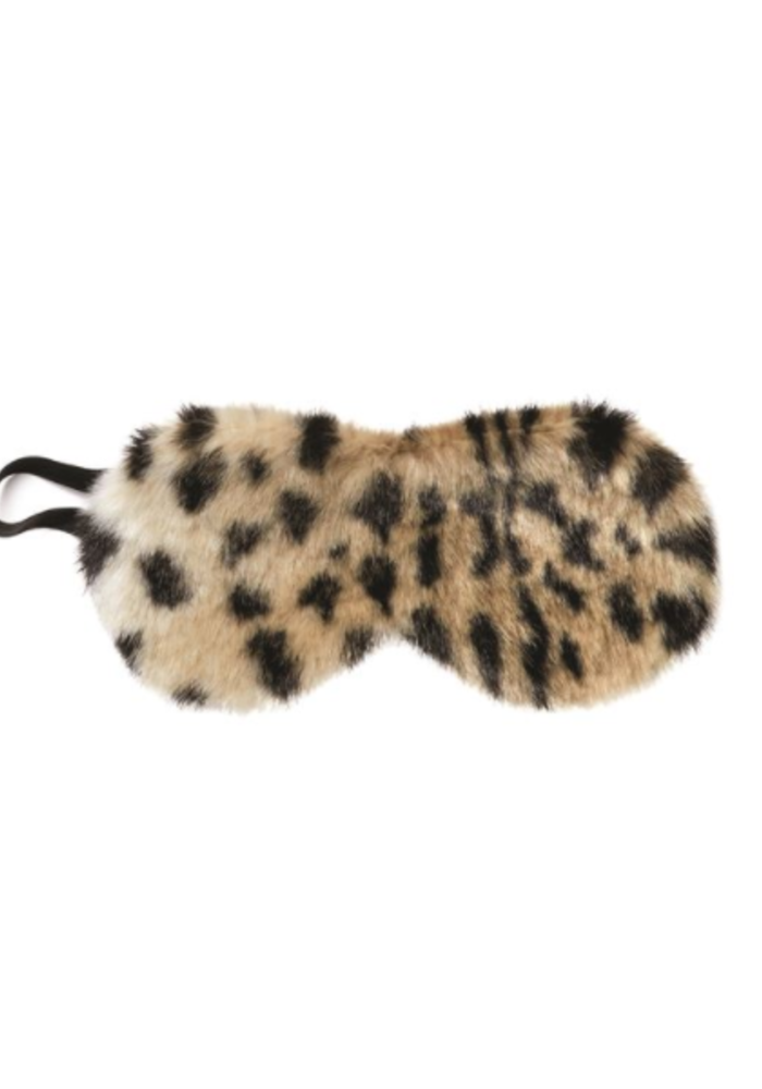 Lush Faux Fur Sleep Mask
