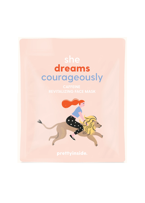 """Musee Bath """"She Dreams Courageously"""" Caffeine Rejuvenating Face Mask"""