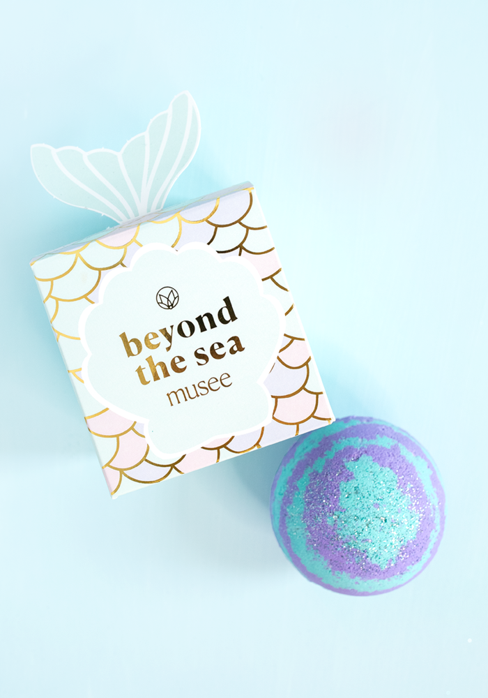 """Beyond the Sea"" Mermaid Surprise Balm Box"