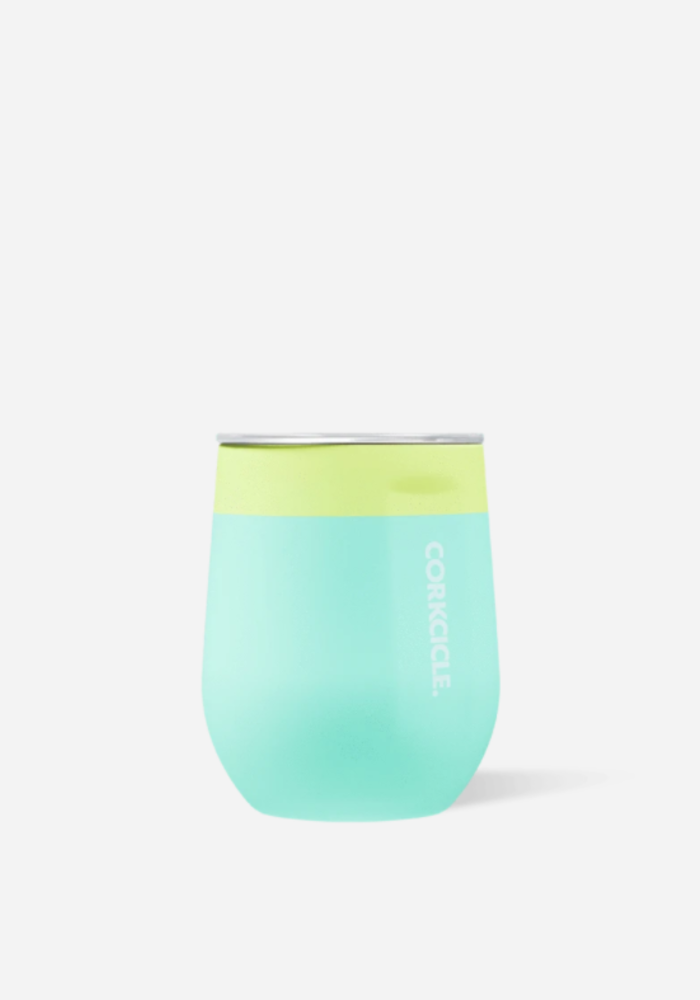 Color Block Corkcicle Stemless Cup