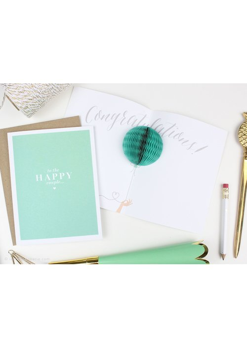 """To the Happy Couple"" Pop-Up Card"