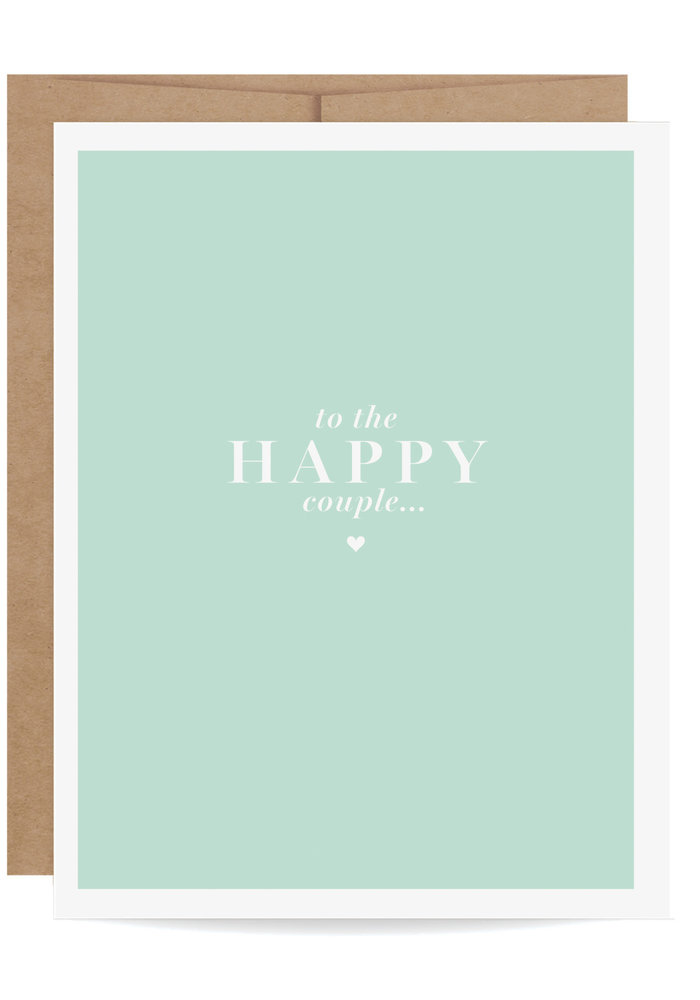 """""""To the Happy Couple"""" Pop-Up Card"""