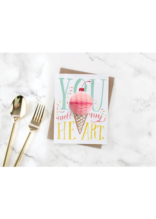 """You Melt My Heart"" Ice Cream Pop-Up Card"