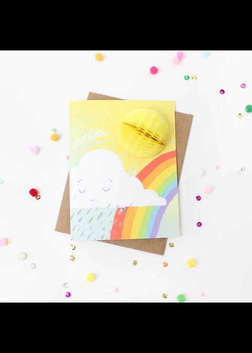"""""""Feel Better"""" Sunshine Pop-Up Card"""