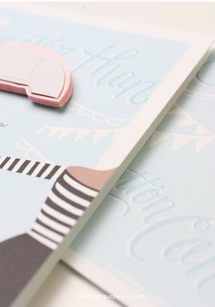 """""""Sweeter Than Cotton Candy"""" Pop-Up Card"""