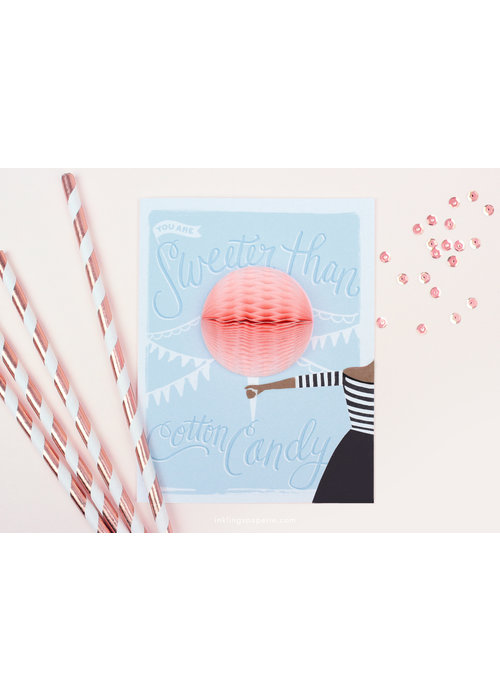 """Sweeter Than Cotton Candy"" Pop-Up Card"