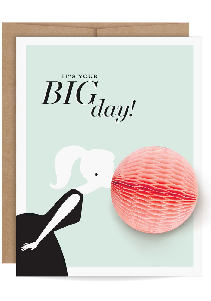 """It's Your Big Day!"" Pop-Up Card"