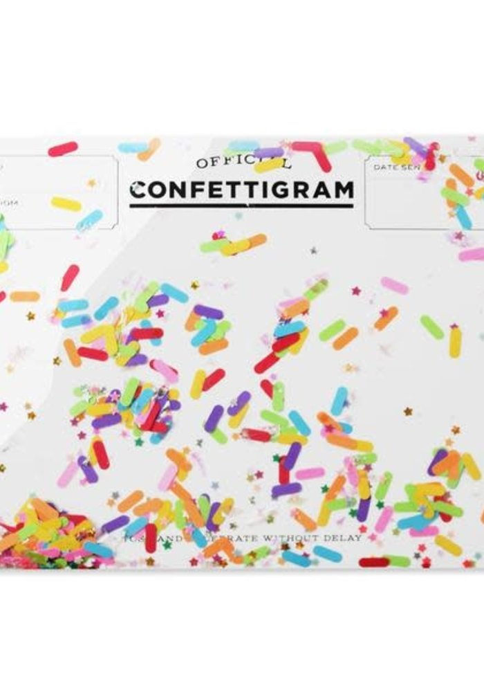 """""""Sprinkles"""" Confettigram"""