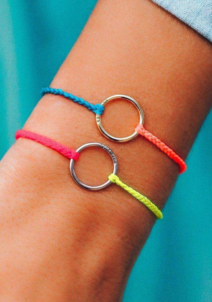Two-Tone Neon  Full Circle Bracelet
