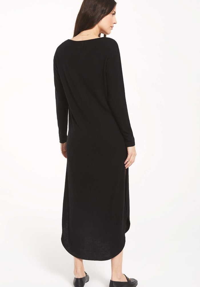 Ray Slub Sweater Dress