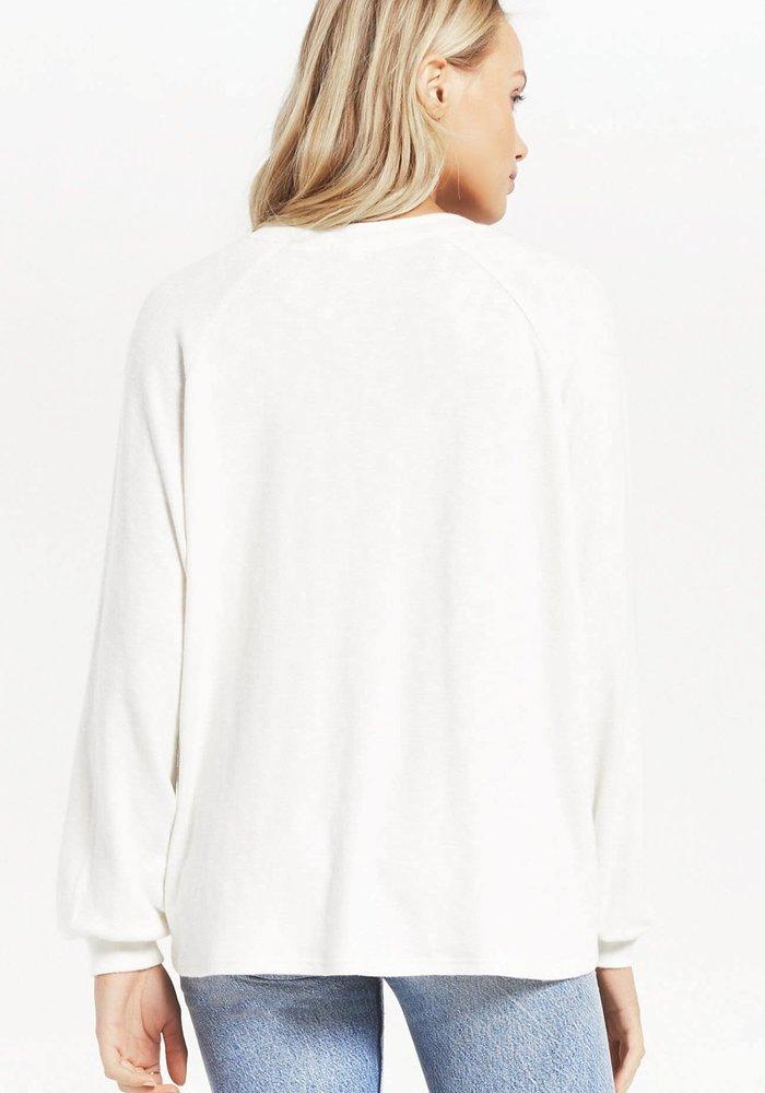 Plira Slub Sweater Top