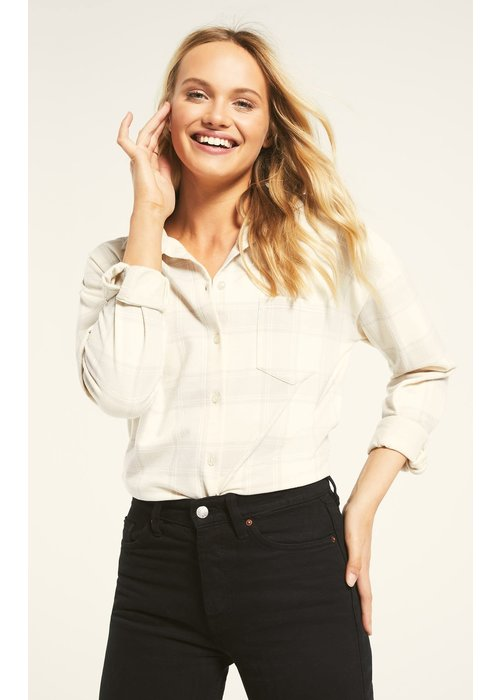 Z Supply Ada Plaid Knit Shirt