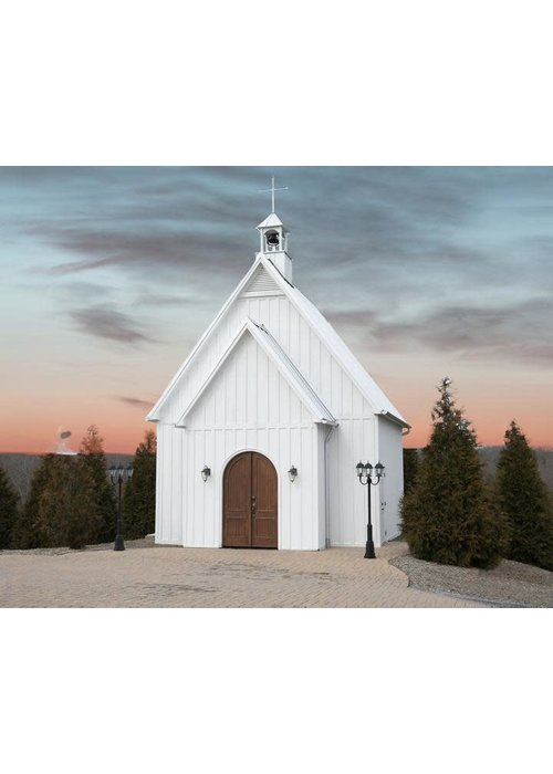 Pink Picasso Charming Chapel Paint by Numbers Kit