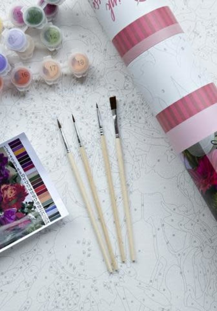 Brilliant Bouquet Paint by Numbers Kit