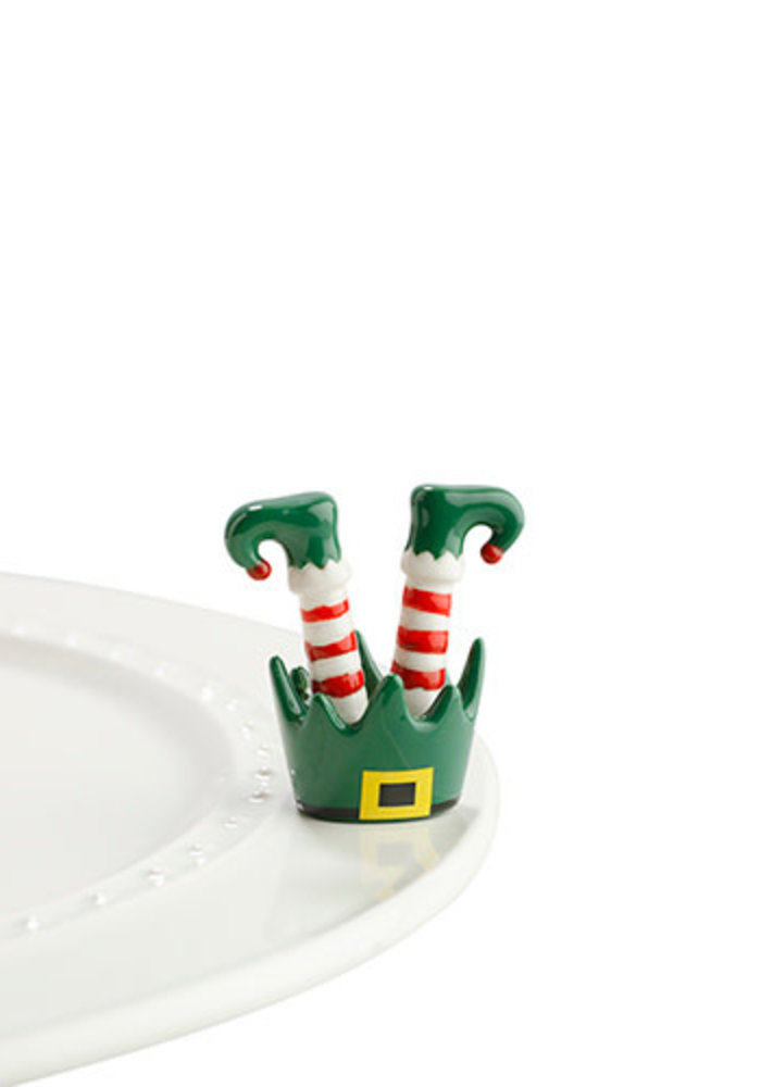 """""""Jingle Toes"""" Nora Fleming Mini"""