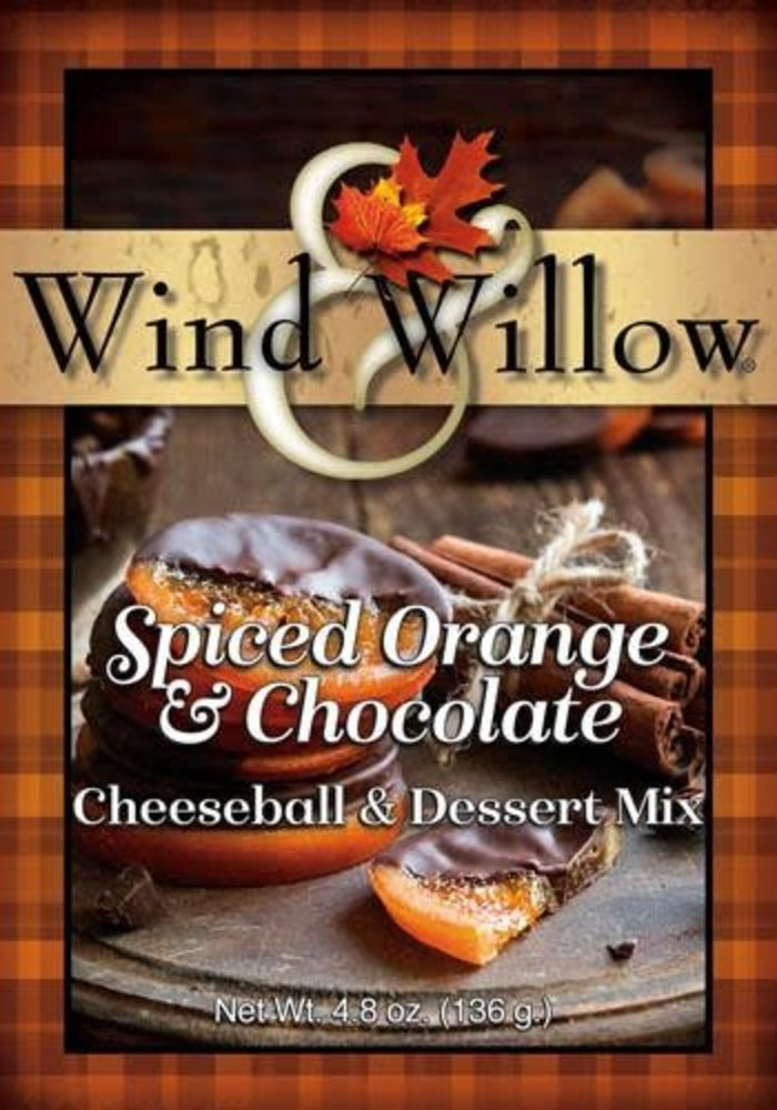 Spiced Orange & Chocolate Cheeseball & Dessert Mix