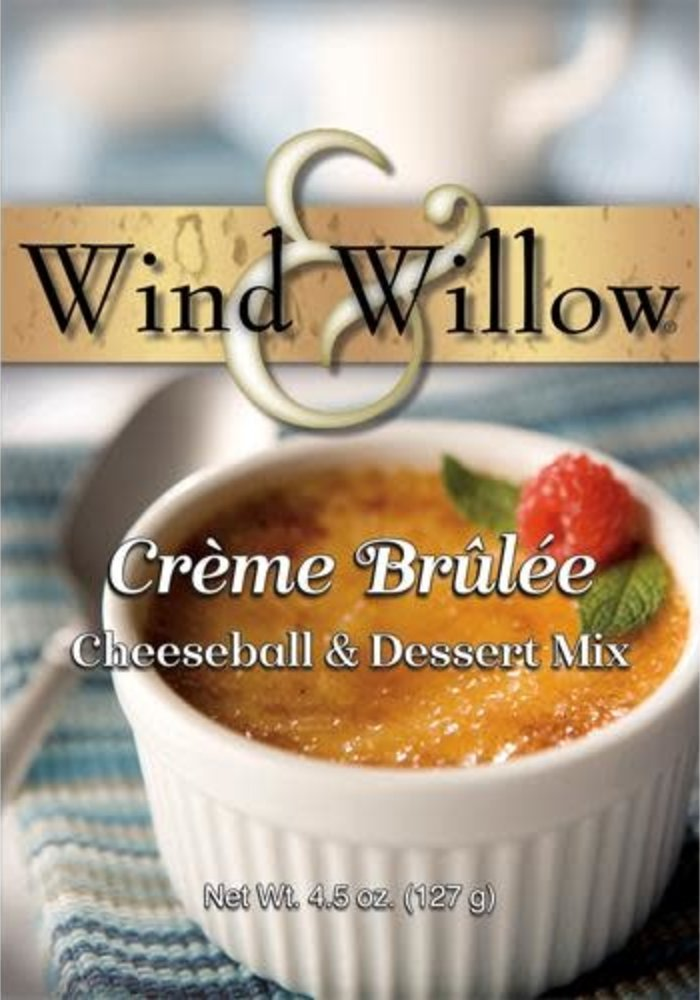 Creme Brulee Cheeseball & Dessert Mix