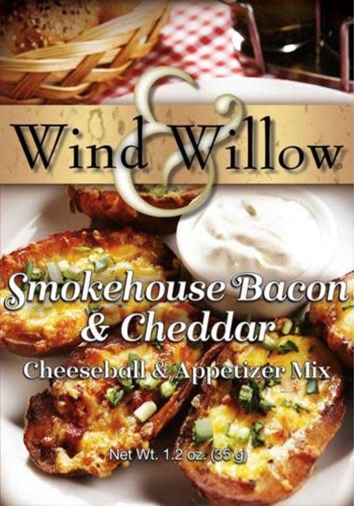 Smokehouse Bacon & Cheddar Cheeseball & Appetizer Mix