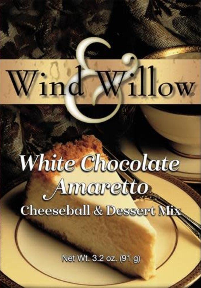 White Chocolate Amaretto Cheeseball & Dessert Mix