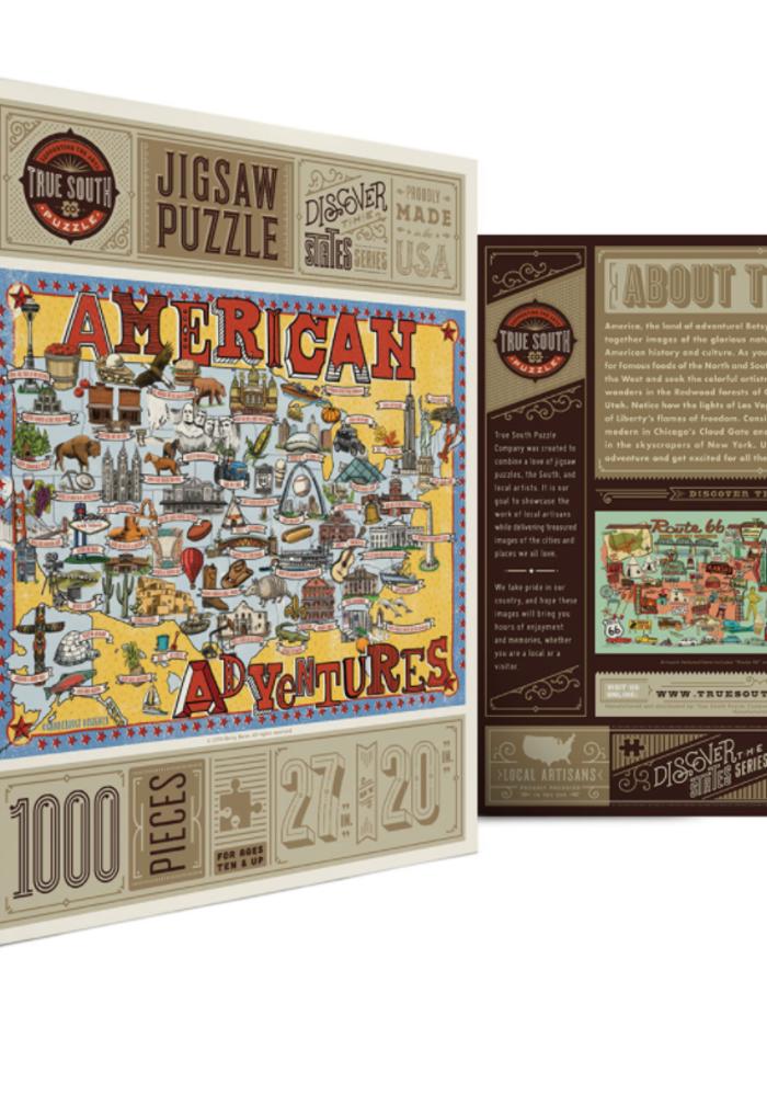 American Adventures Puzzle