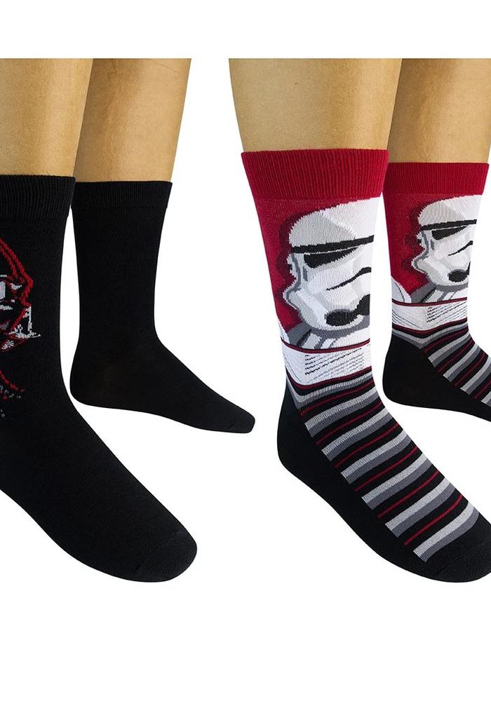 Star Wars Darth Vader & Storm Trooper Socks (2-Pack)