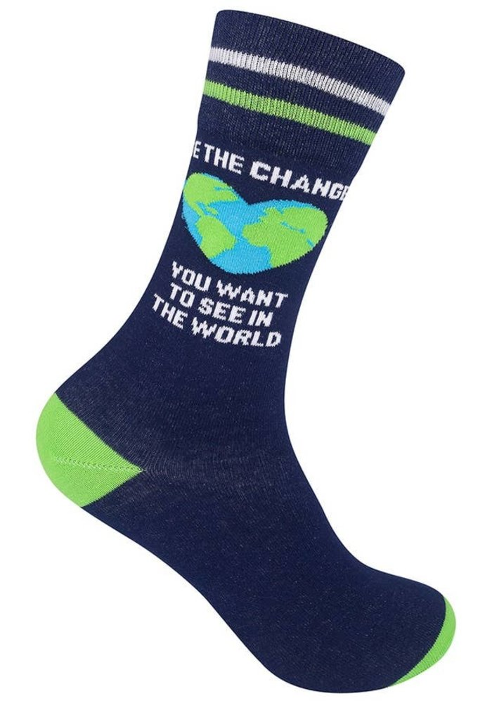 """""""Be The Change You Want to See"""" Socks"""