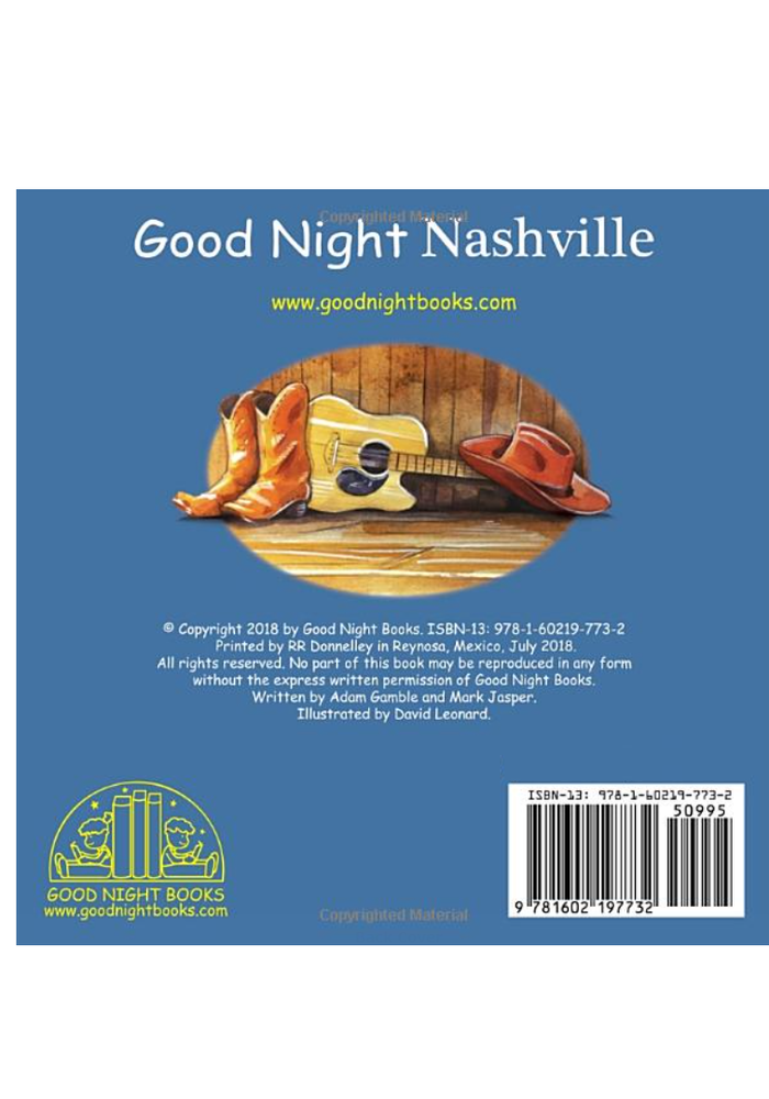 """Goodnight Nashville"" Board Book"