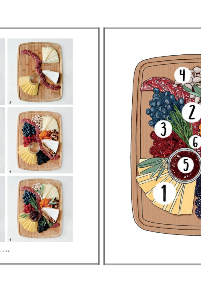 """""""That Cheese Plate Will Change Your Life"""" Cheese-By-Numbers Book"""
