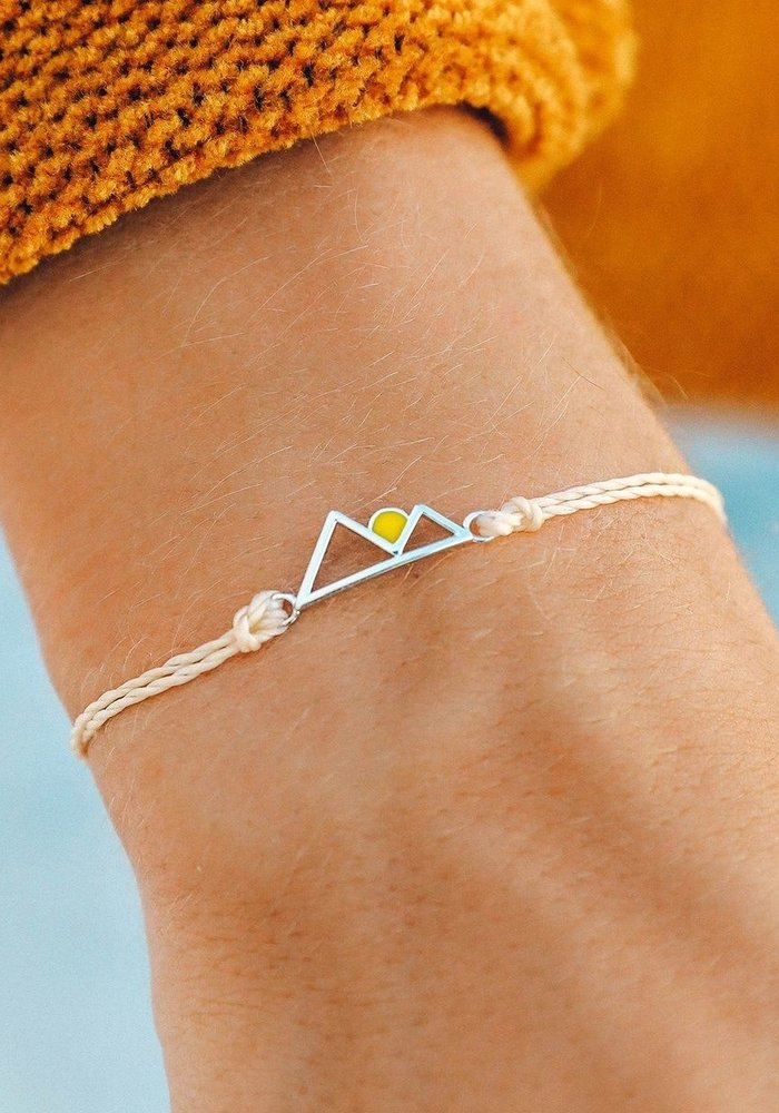 Rising Sun Silver Bracelet