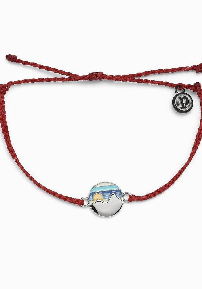 "Twin Peaks ""Be Wild and Wander"" Charm Bracelet"